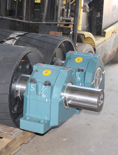 mounted mining conveyor bearings