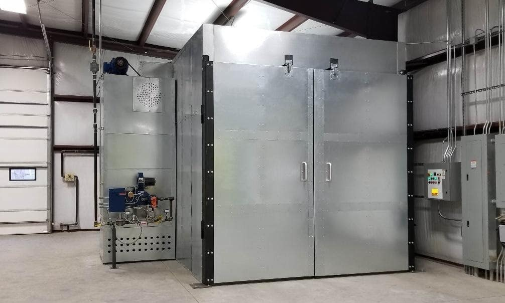 Gas Powder Curing Oven System