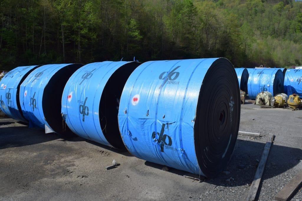 Depreux Cobra mining conveyor belt