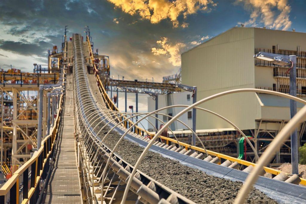 mining conveyor system